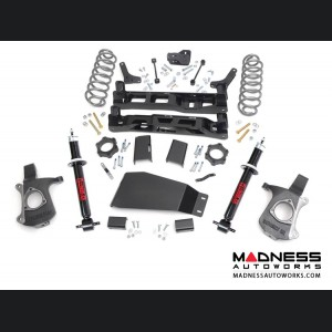"Chevy Suburban 2WD Suspension Lift Kit w/ Premium N2.0 Front Struts - 5"" Lift"